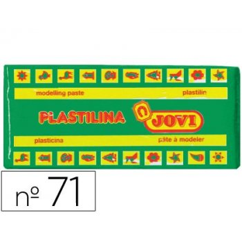 Plastilina jovi 71 verde claro -unidad -tamaño mediano