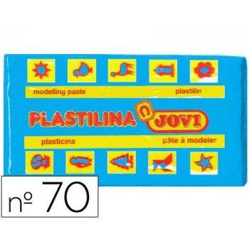 Plastilina jovi 70 azul claro -unidad -tamaño pequeño