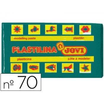 Plastilina jovi 70 verde oscuro -unidad -tamaño pequeño
