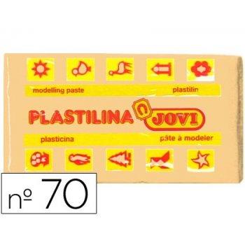 Plastilina jovi 70 carne -unidad -tamaño pequeño