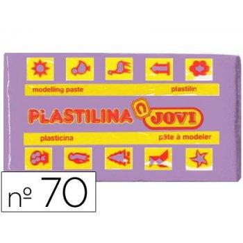 Plastilina jovi 70 lila -unidad -tamaño pequeño