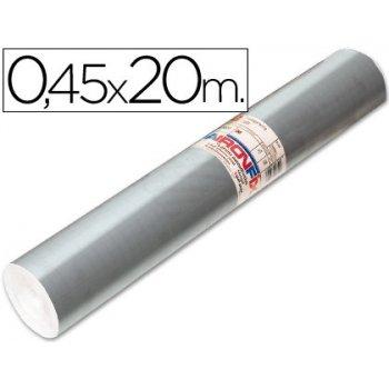Rollo adhesivo aironfix especial plata 69193 -rollo de 20 mt
