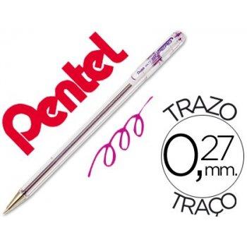 Boligrafo pentel bk-77 v violeta