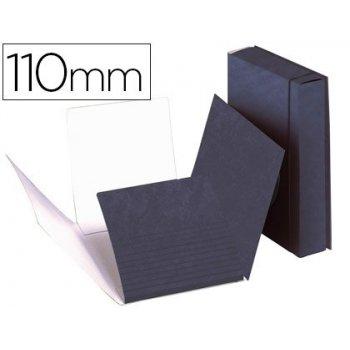 Carpeta proyectos carton compacto gio folio azul -lomo extensible de 11 cm -tamaño 327x240 mm