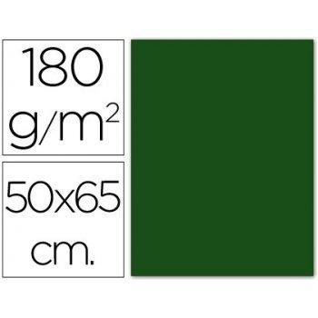 Cartulina guarro verde abeto 50x65 cm 180 gr