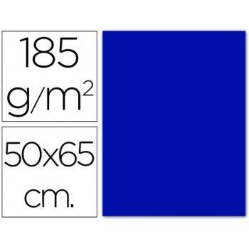 Cartulina guarro azul ultramar -50x65 cm -185 gr