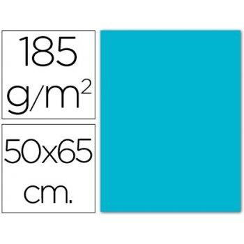 Cartulina guarro azul turquesa -50x65 cm -185 gr