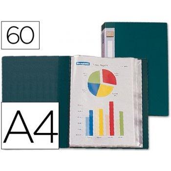 Carpeta liderpapel personaliza 31743 60 fundas polipropileno din a4 verde -lomo personalizable