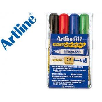 Rotulador artline pizarra ek-517 4 -punta redonda 2 mm -bolsa de 4 rotuladores