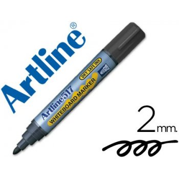 Rotulador artline pizarra ek-517 negro -punta redonda 2 mm -tinta de bajo olor