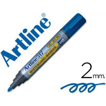 Rotulador artline pizarra ek-517 azul -punta redonda 2 mm -tinta de bajo olor