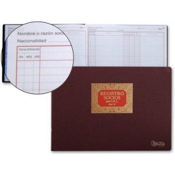 Libro miquelrius n. 76 folio apaisado 100 hojas -registro de socios para s.r.l