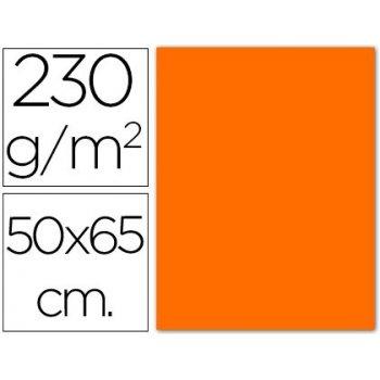 Cartulina fluorescente naranja 50x65 cm