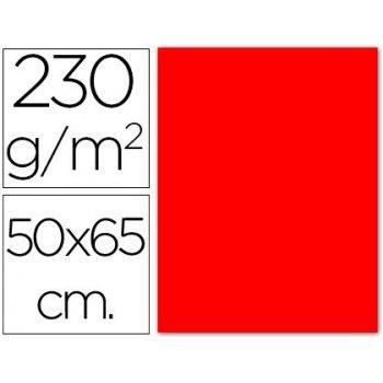 Cartulina fluorescente roja 50x65 cm