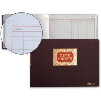 Libro miquelrius folio -apaisado -100 hojas -cuentas corrientes -debe haber y saldo