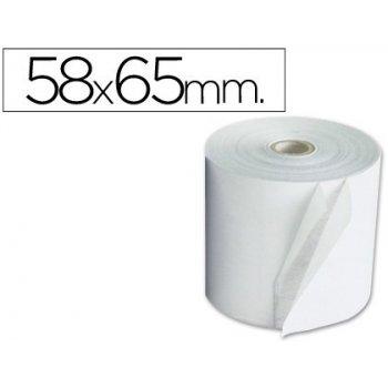 Rollo sumadora electro 58 mm ancho x 65 mm diametro