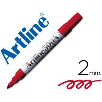 Rotulador artline pizarra ek-500 rojo punta redonda 2 mm recargable