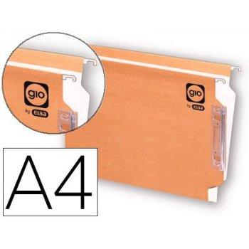 Carpeta colgante gio din a4 visor lateral tamaño 330x275x345 mm