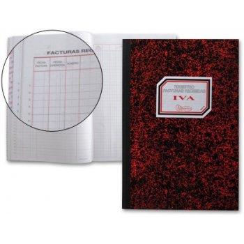Libro miquelrius cartone 3019 folio 50 hojas registro de facturas recibidas-n. 65