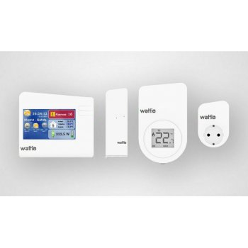 Wattio ENERGY PACK termoestato Blanco