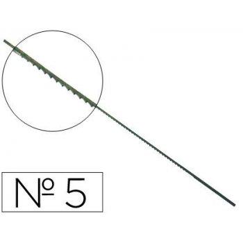Pelos de segueta madera n.5 -caja de 144