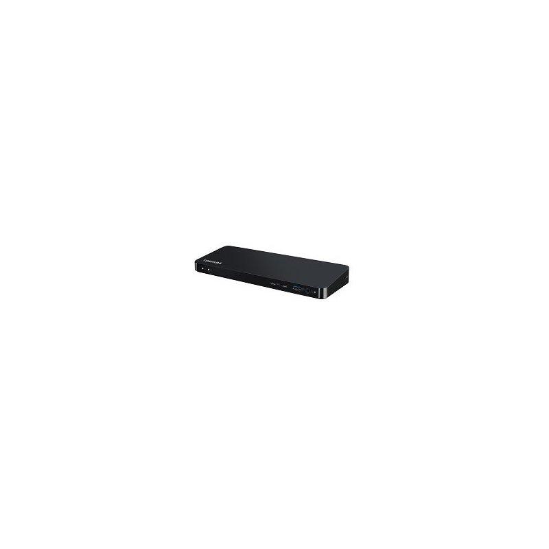 Toshiba Thunderbolt 3 Dock Alámbrico Negro