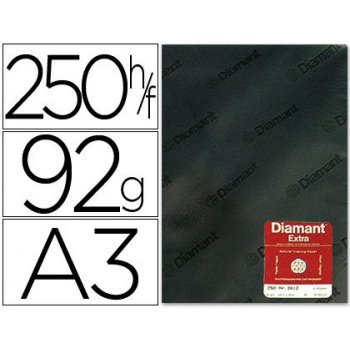 Papel vegetal diamant din a3 92 gr hoja