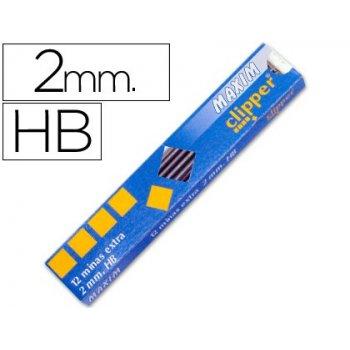 Minas maxim grafito de 2 mm -estuche de 12 minas