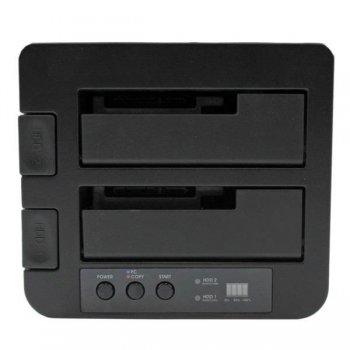 StarTech.com Base USB 3.0 y eSATA Copiadora de Unidades de Disco SATA - Clonador Autónomo SATA de 6Gbps para Copiado de Alta