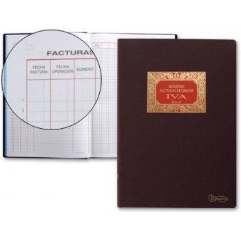 Libro miquelrius n. 65 folio 100 hojas -facturas recibidas