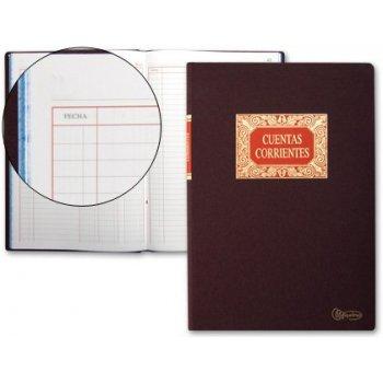 Libro miquelrius folio 100 h. -cuentas corrientes -debe haber y saldo