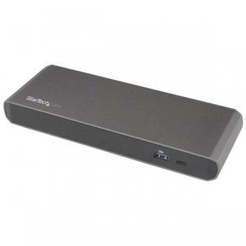 StarTech.com Docking Station Thunderbolt 3 con Vídeo Doble de 4K para Portátiles - Replicador de Puertos para Windows Solamente