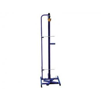 Guillotin metalico con ruedas -para rollos de hasta 1.20 mt