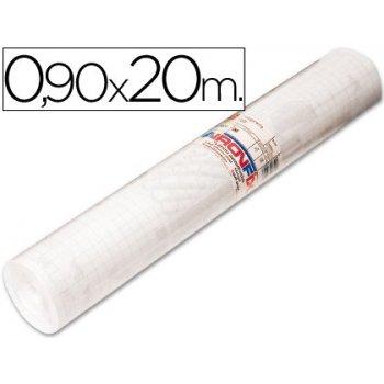 Rollo adhesivo aironfix unicolor transparente 67001 -rollo de 90 cm x 20 mt