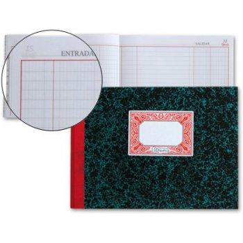Libro miquelrius cartone 3087 cuarto 100 hojas entrada y salida apaisado