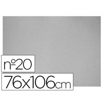 Carton gris nº 20 76x106 cm -hoja