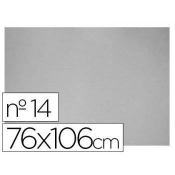 Carton gris nº 14 76x106 cm -hoja