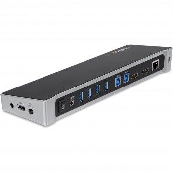 StarTech.com Docking Station USB 3.0 para dos Ordenadores Portátiles