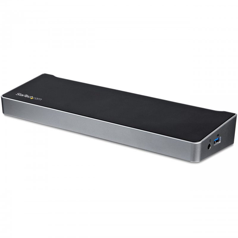 StarTech.com Docking Station USB 3.0 para Tres Monitores - 1x HDMI - 2x DisplayPort