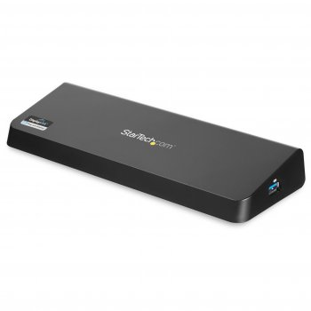 StarTech.com Docking Station USB 3.0 para Dos Monitores con HDMI y DisplayPort 4K