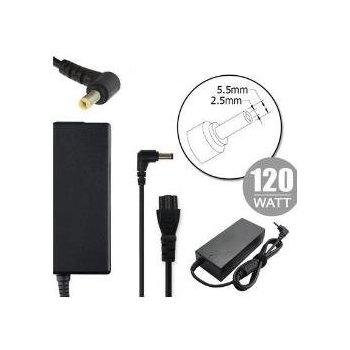 Nilox NLX120W-LT10 adaptador e inversor de corriente Interior 120 W Negro