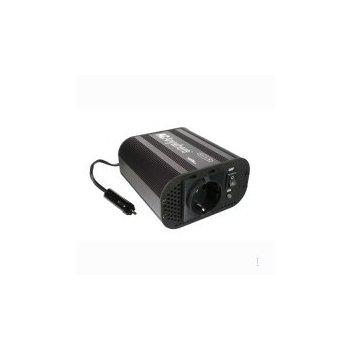 Belkin AC Anywhere 300W adaptador e inversor de corriente Negro