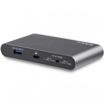 StarTech.com Adaptador Multipuertos USB-C para Doble Monitor - 2 x 4K DP - PD 3.0 de 100W - Docking Station USB Tipo C