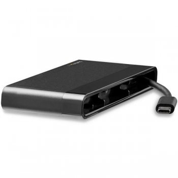 StarTech.com Adaptador Multipuertos USB-C 4K con HDMI y VGA - Mac Win Chrome - 1x USB-A - GbE - Portátil - Docking Station USB