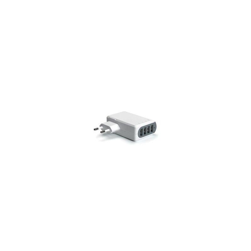 Celly TC4USB5A cargador de dispositivo móvil Interior Blanco