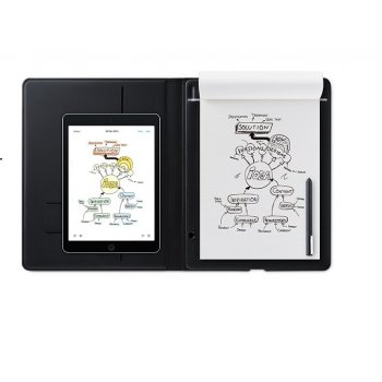 Wacom Bamboo Folio Small tableta digitalizadora 140 x 216 mm USB Gris