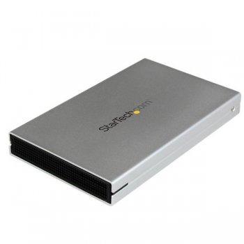 StarTech.com Caja USB 3.0 UASP eSATAp eSATA de Disco Duro SATA III 6GBps de 2,5 Pulgadas