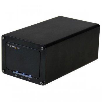 "StarTech.com Caja USB 3.1 (10 Gbps) de dos bahías SATA de 2,5"" para disco duro"