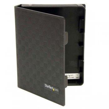 StarTech.com Paquete 3 Cubierta Protectora Funda de Plástico Disco Duro 2,5in Pulgadas - Forro - Negro
