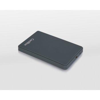 "CoolBox SlimColor 2543 2.5"" Carcasa de disco duro SSD Gris"